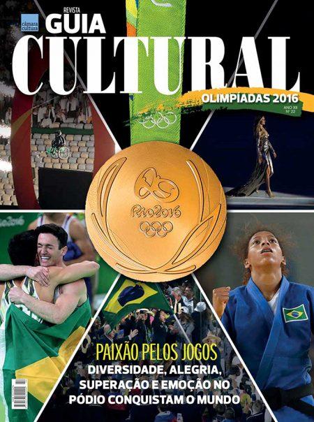 Capa da Edição nº 22 Revista Guia Cultural Olimpíada