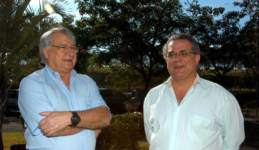 Pesquisadores Eduardo Assad (Embrapa) e Hilton Silveira Pinto (Unicamp)