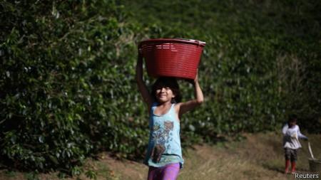 Costa Rica, Nicarágua e El Salvador são alguns dos países que também podem ser afetados por aquecimento global.
