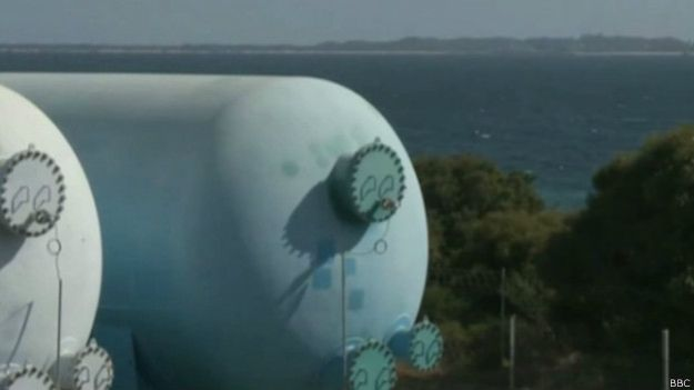 Grande parte do suprimento de água de Perth vem de plantas de dessalinização.