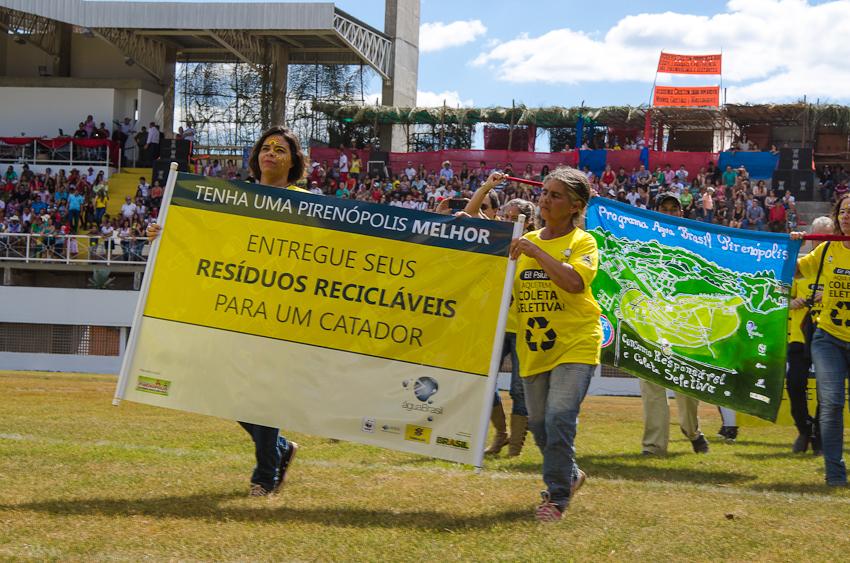 Catapiri nas Cavalhadas. Foto: © WWF Brasil_Herinque Ferreira.