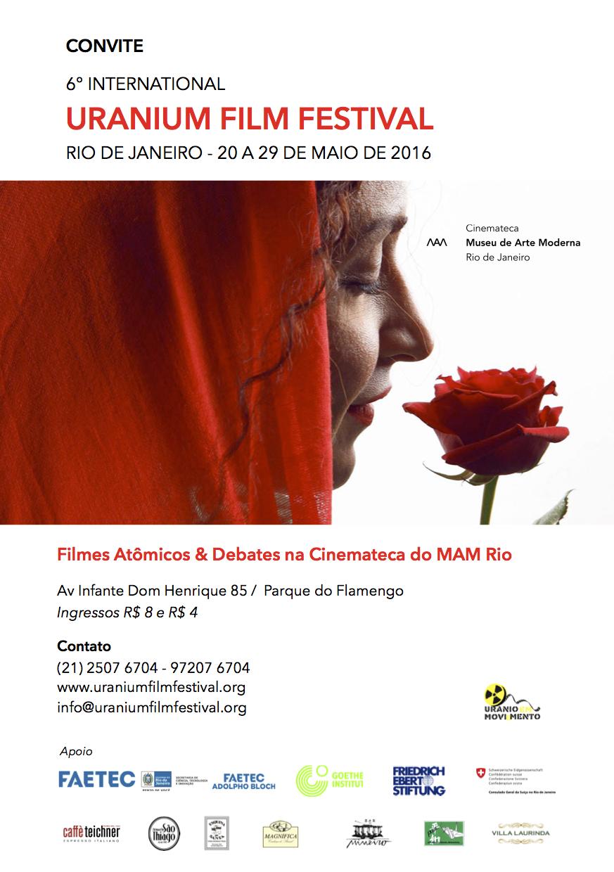 Convite Uranium Festival MAM CINEMATECA 2016 (1)