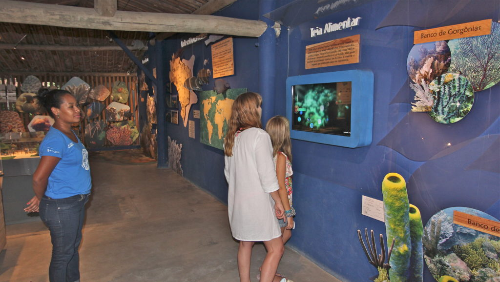 Espaço Coral Vivo Mucugê será apresentado no curso de formação sobre turismo sustentável